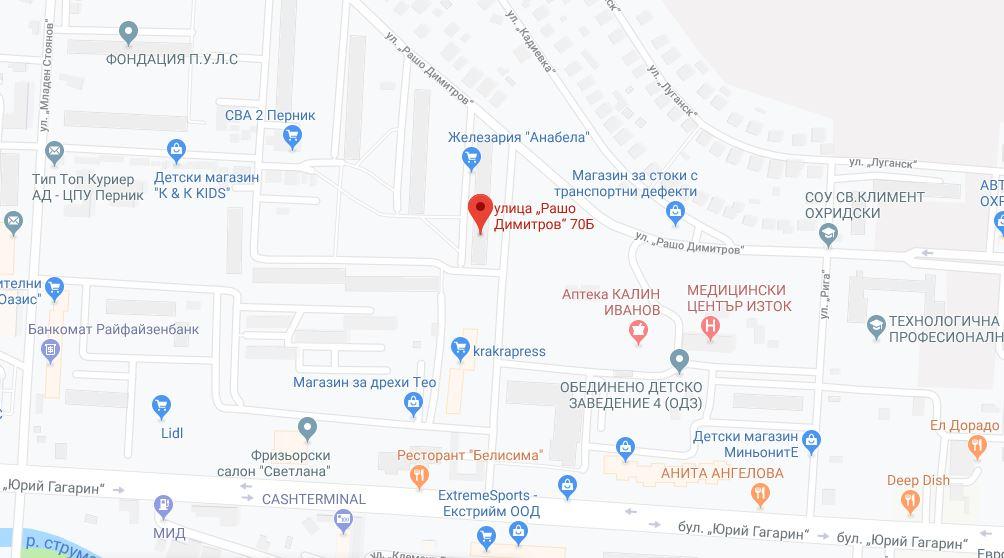Адрес д-р Никифорова